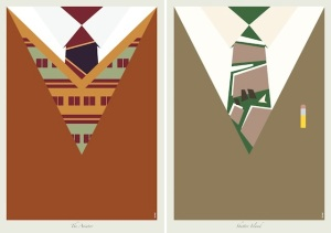 Dicaprio-Suits-minimalist-posters-